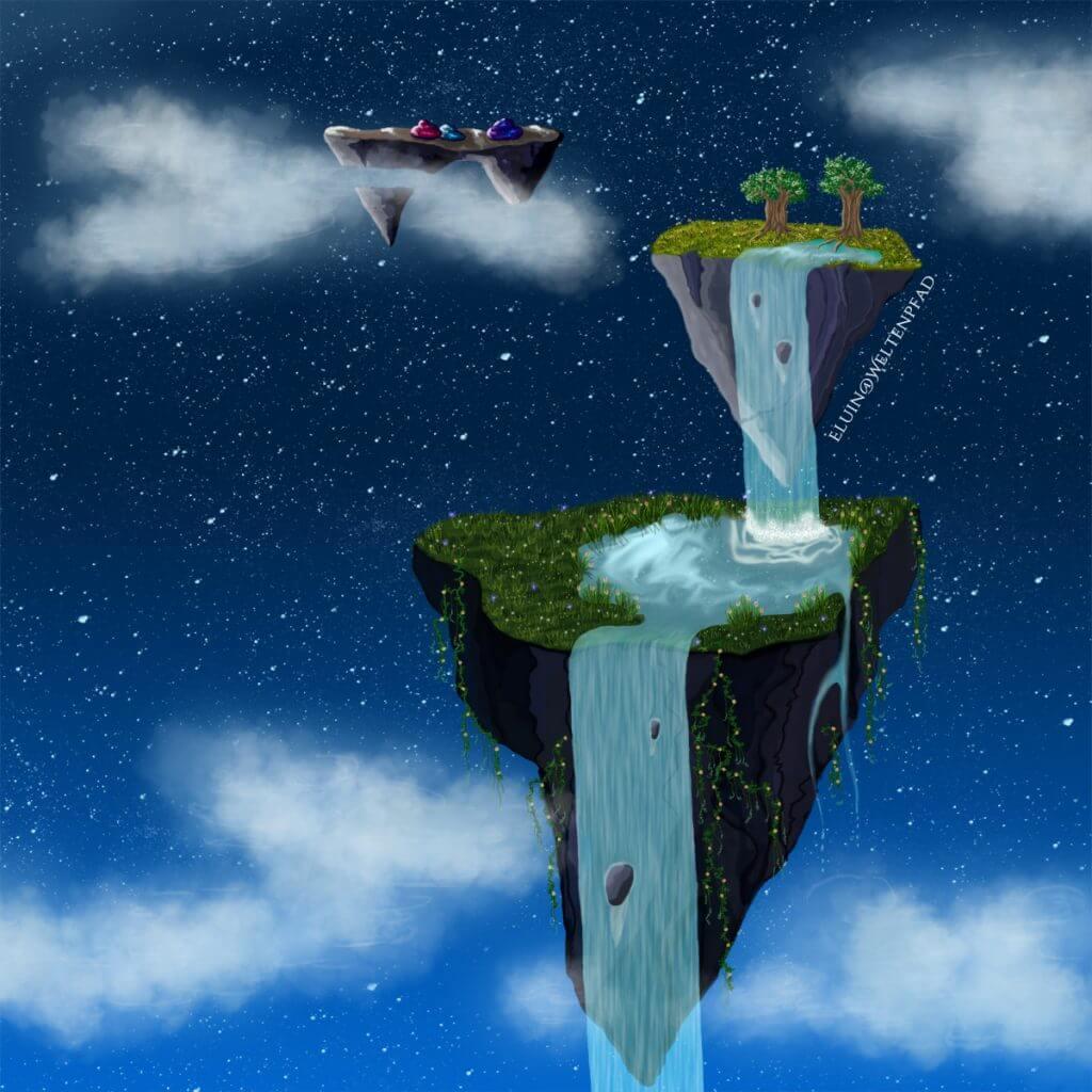 Die Inseln der Träume - Lichtträgerin