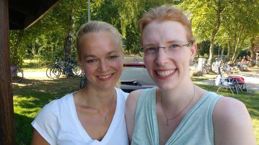 Corinna und ich