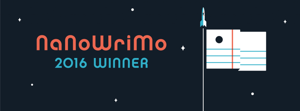 NaNoWriMo 2016 - Winner