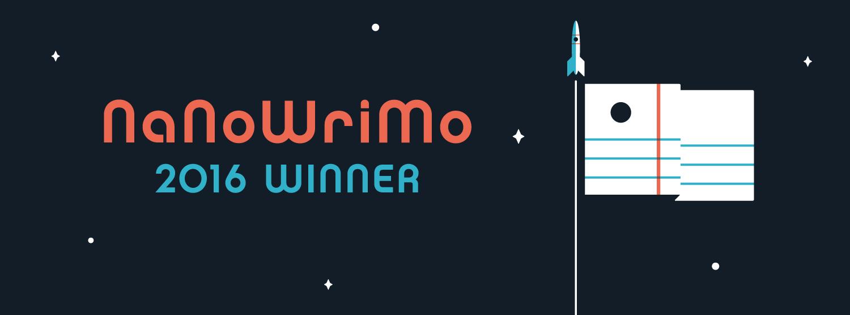 NaNoWriMo 2016 - Winner