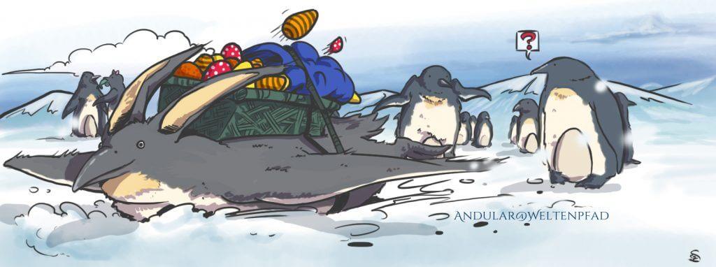 Pinguine und Ostern? Katzen und Sittiche?