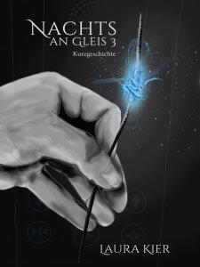 Nachts an Gleis 3 - Cover Kurzgeschichte