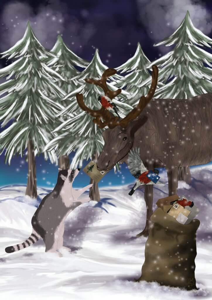 Weihnachtsstimmung an Heiligabend