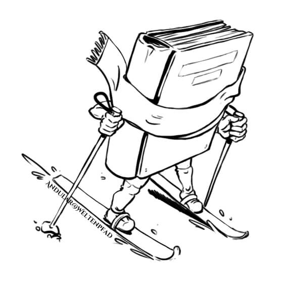 Schreiben ist wie Skilanglauf