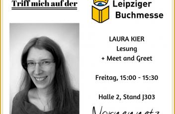 Lesung auf der LBM Laura Kier