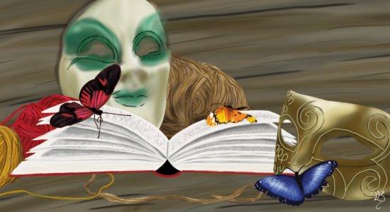 Masken in Fiction und Realität