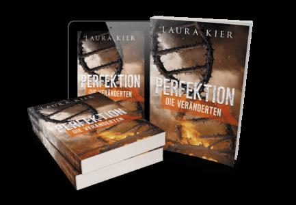 Perfektion - Die Veränderten von Laura Kier Cover Mockup