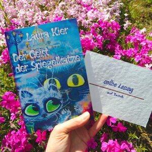 online Lesung: Der Geist der Spiegelkatze von Laura Kier, erschienen im Machandel-Verlag Foto